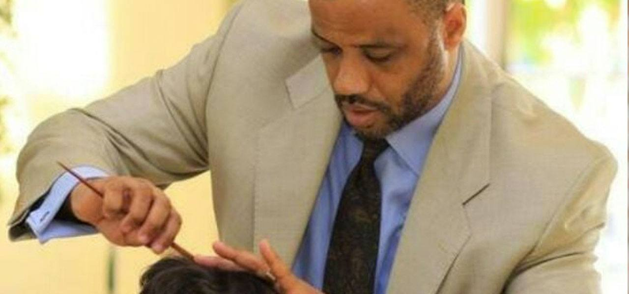 Bruce Johnson gives hair care advice for black swimmers