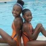 Swim mom Karen Norman tlks with Black Kids Swim