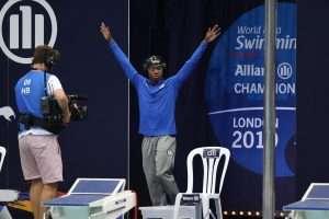 Lawrence Sapp International Star Swimmer