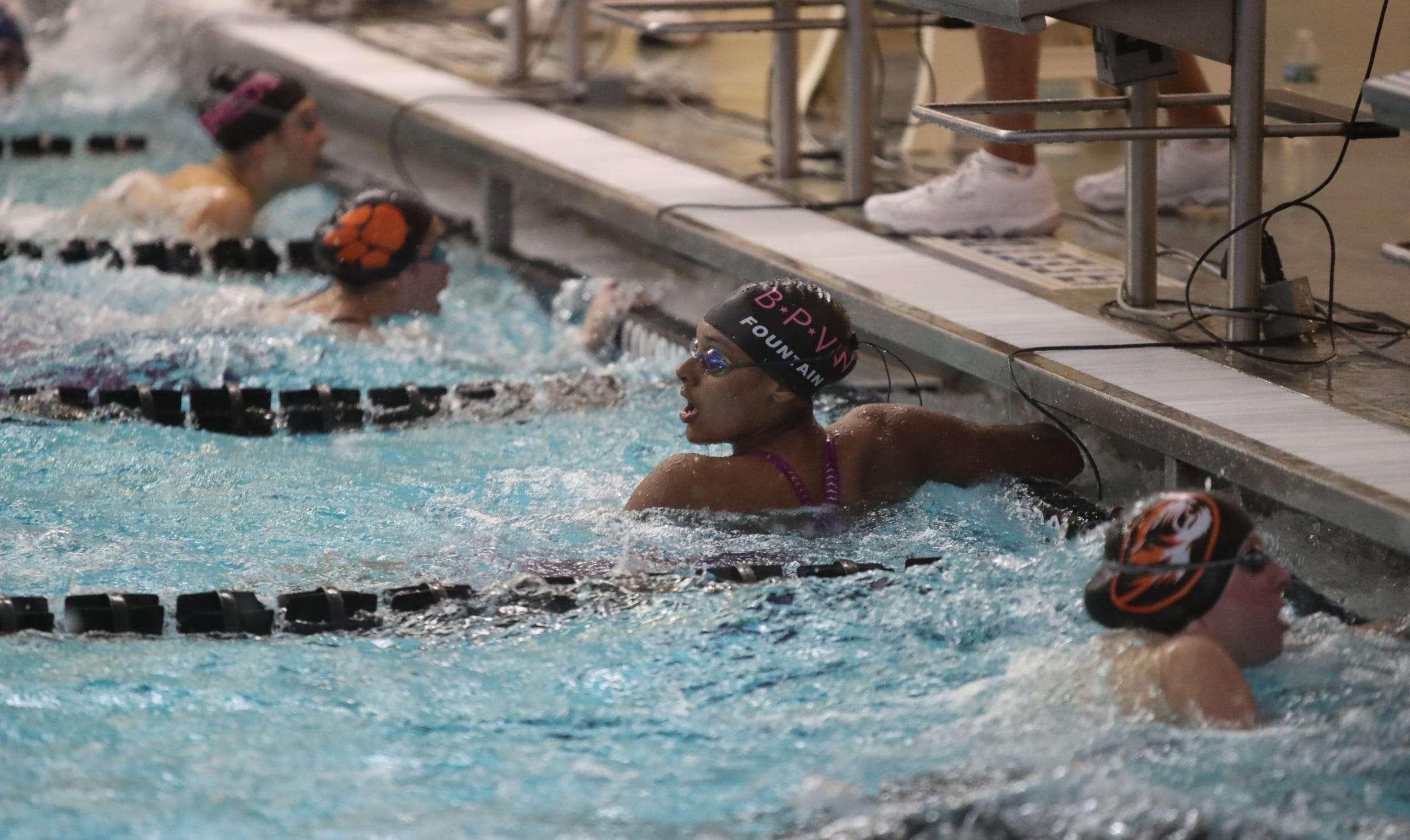 Isabella Fountain commits to Howard University Black Kids Swim