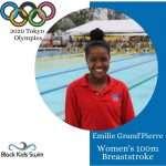 Black Kids Swim Emilie Grand Pierre Haiti 2020 Olympic Swimmer 100m Breaststroke