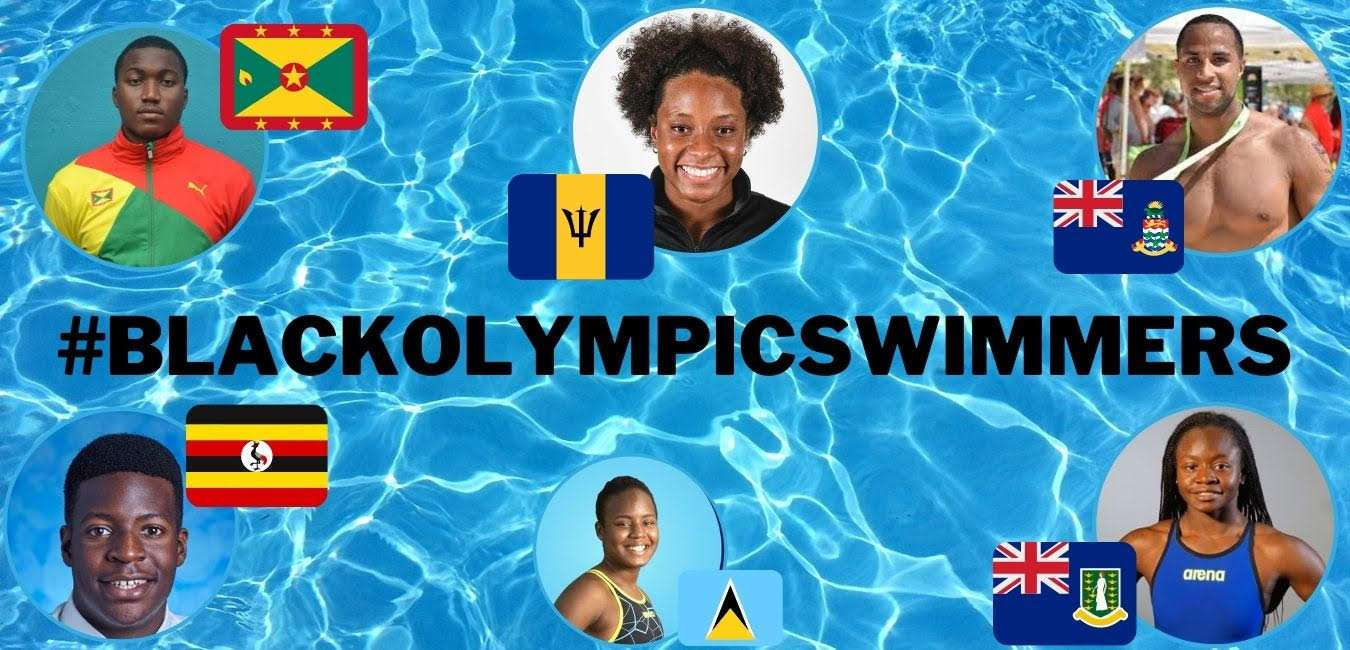 Black Swimmers in the 2020 Olympics