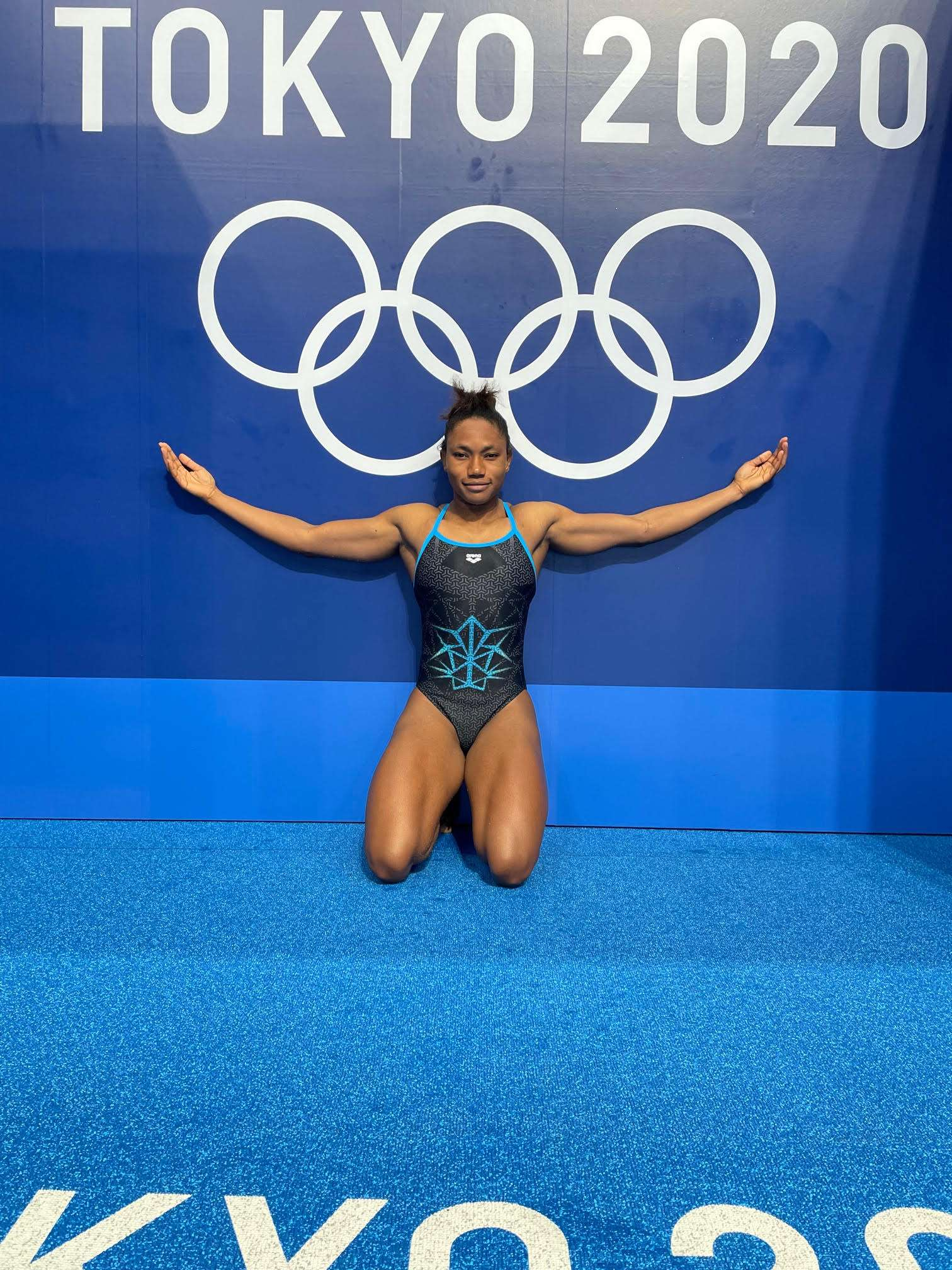 Black Olympic Swimmer Angelika Ouedraogo Black Swimmers in the 2020 Olympics